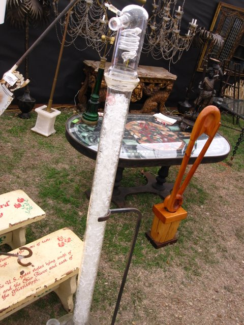 Oddities seen at the Round Top antique fair