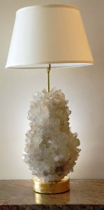 Guartz, geode & crystal in home decor