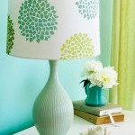 Learn how to decorate a plain lamp shade