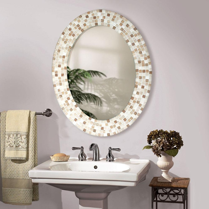 Decorative bathroom mirrors and mirror designing tips for Bathroom decor mirrors