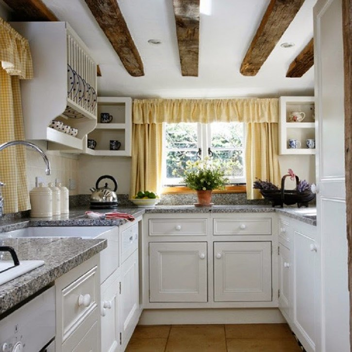 Small-kitchen-designs-country-style-kitchen-with-plate-rack