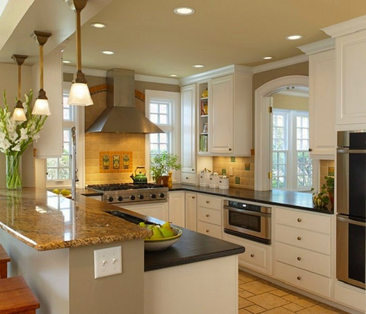 10 Small House Interior Design Solutions: 10 Small Kitchen Interior Design Ideas For Your Home